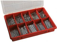 DURATOOL D01837  Cotter Pin Set 650Pcs